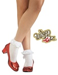 Adult Dorothy Red Slippers