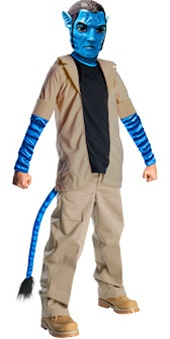 Licensed Deluxe Jake Sully Avatar Costume