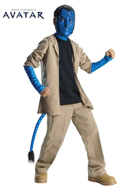 Deluxe Avatar Child Jake Sully Costume