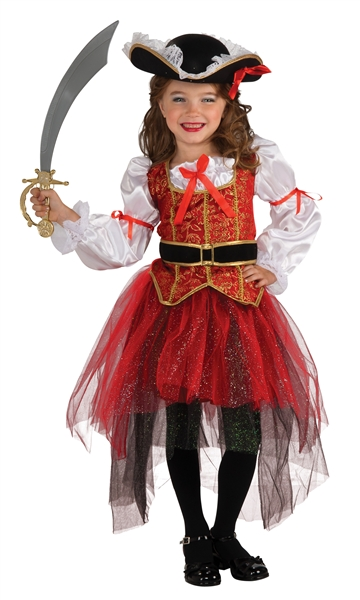 Child Princess of the Seas Pirate Costume