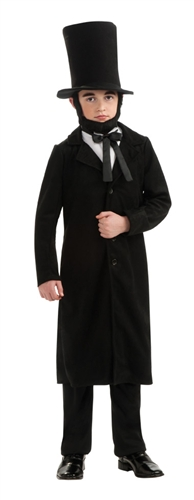 Child Abraham Lincoln Costume - School Play