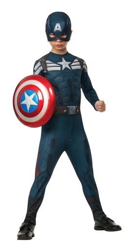 Captain America 2 Stealth Suit Costume - Child