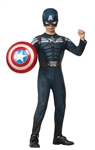 Deluxe Captain America 2 Stealth Suit Costume - Child