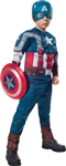 Boys Deluxe Retro Captain America Costume