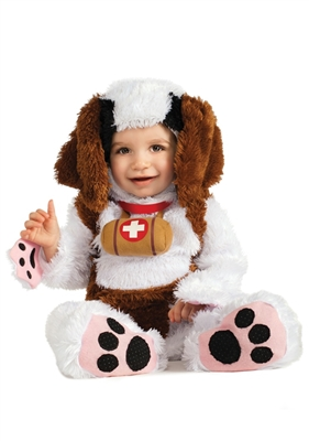 Infant St. Bernard Costume from the Noah's Ark Collection