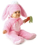 Pink Bunny Costume - Baby