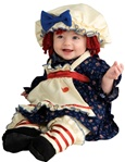 Kid's Raggedy Ann Costume