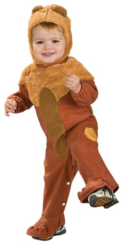 Cowardly Lion - Infant Romper Costume