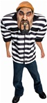 Big Bruizers Jailbird Teen Costume