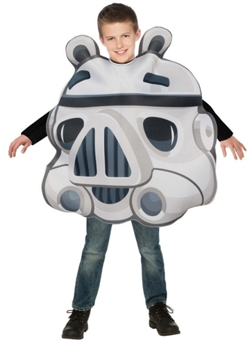 Child Stormtrooper Pig Costume - Angry Birds -  Kids Star Wars