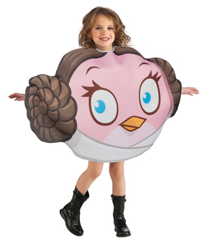 Child Princess Leia Angry Birds Costume - Kid's Star Wars