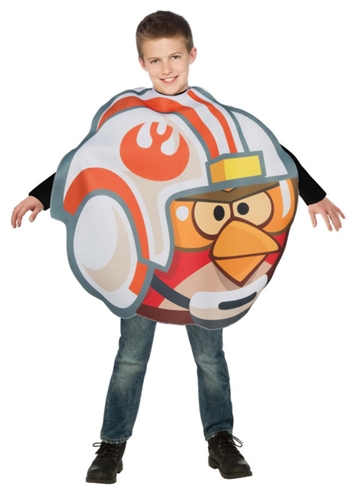 Child X-Wing Pilot Angry Birds Costume - Kid's Star Wars