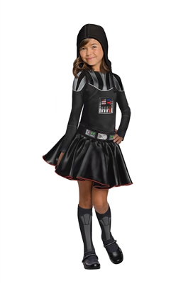 Girl's Darth Vader Costume