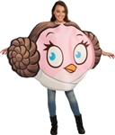 Adult Princess Leia Angry Birds Costume - Star Wars