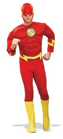 Deluxe Flash Adult Costume