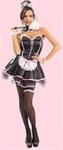 Adult Sexy Naughty French Maid Costume