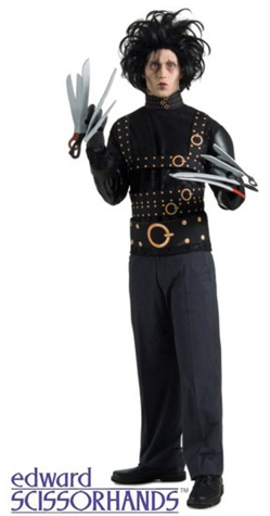 Edward Scissorhands Costume - Adult