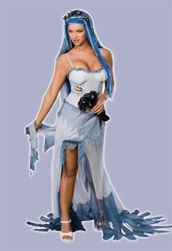 Sexy Adult Corpse Bride Costume