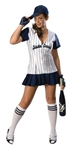 Nasty Curves - Sexy Baseball Adult Costume