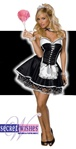 Sexy Adult French Maid Costume