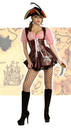 Sea Goddess Pirate Adult Costume
