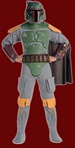 Star Wars - Deluxe Adult Boba Fett Costume
