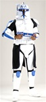 Deluxe Adult Rex Clone Trooper Costume