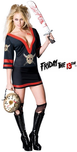 Sexy Adult Ms Voorhees Costume - Jason's Babe