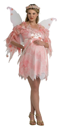 Maternity Pink Fairy Costume