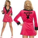 Sexy Playboy Smoking Jacket