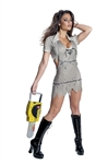 Sexy Leatherface Horror Movie Costume