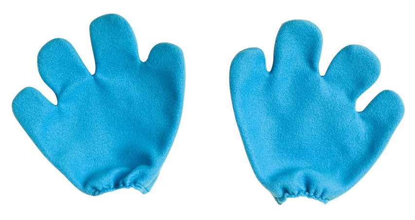 Smurf Gloves Costume Accessory