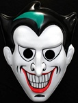 Plastic Kids Joker Mask