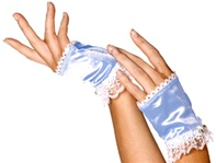 Blue Glovelettes - Bo-Peep - Accessory