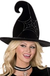 Witch Spiderweb Hat - Adult