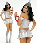 Sexy Tin Woman Costume - XS