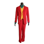The Joker Joaquin Phoenix Clown Suit Costume