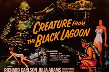 Creature From The Black Lagoon Tin Sign Decoration