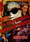 The Invisible Man Returns Tin Sign - Decoration
