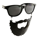 Black Beard Sun-Staches Costume Sunglasses