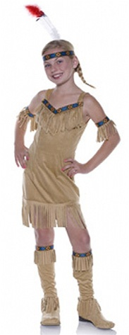 Girl's Indian Princess Costume