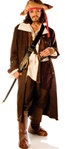 Deluxe Captain Jack Pirate Adult Costume