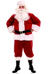 Plush Santa Claus Costume