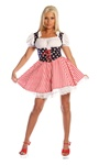 Sexy Stars N Stripes Adult Costume - American