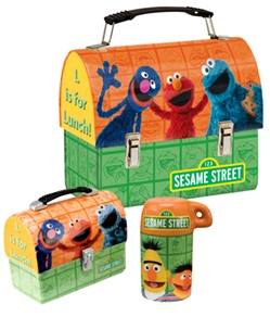 Sesame Street Lunch Box Set