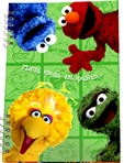 Sesame Street Paper Cover Address Book