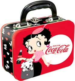 Officially Licensed Betty Boop Coca-Cola Tin Tote