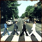 Licensed The Beatles Abbey Road Metal Sign