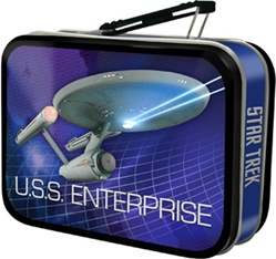 Officially Licensed Star Trek U.S.S. Enterprise Mini Tin Tote