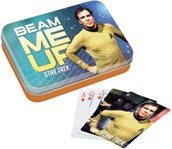 Officially Licensed Star Trek Beam Me Up Playing Card Set